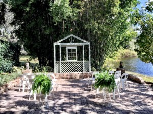 Intimate Garden wedding in Orlando